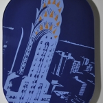 Aircraft artwork of the Chrysler Building