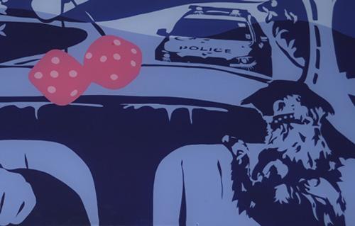 Police Chase VW Beetle